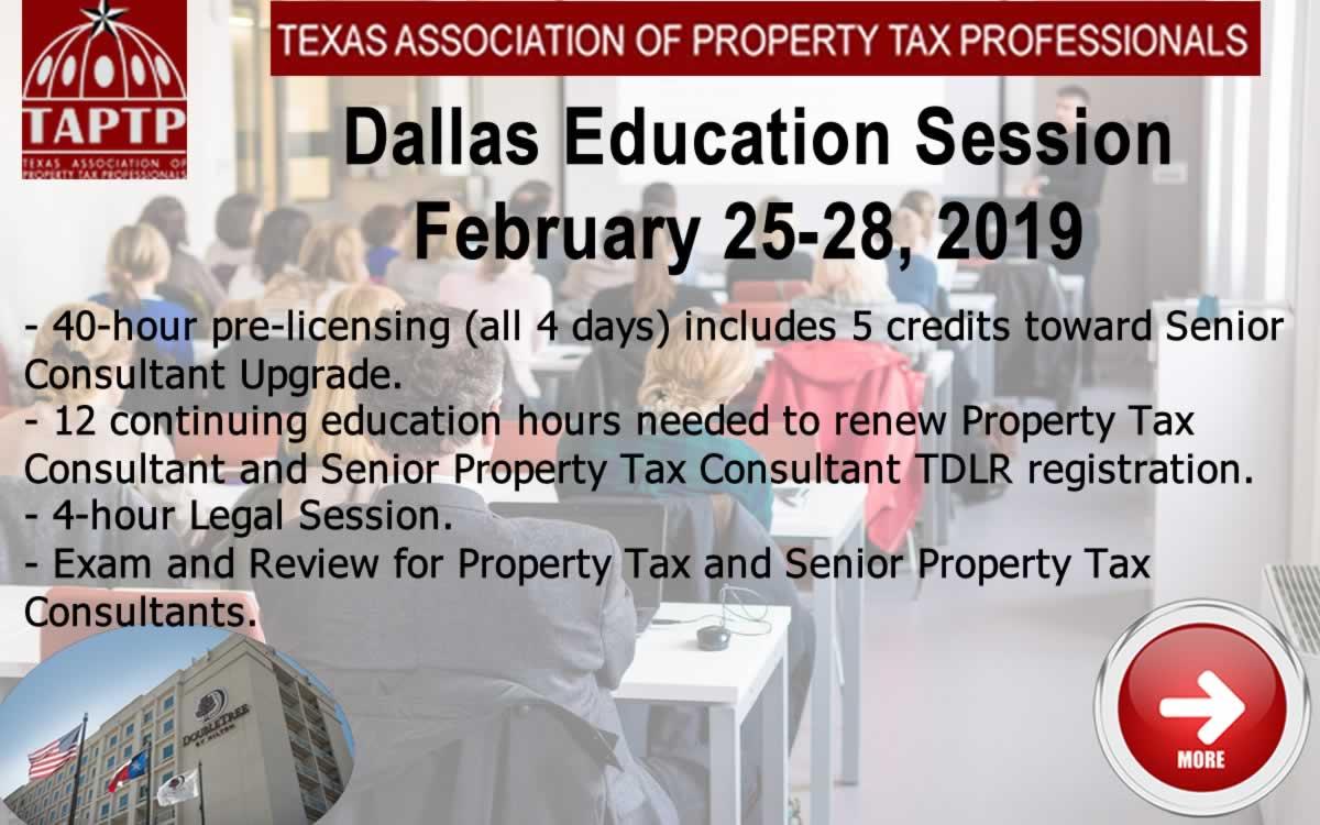 2019 Dallas Education Seminar