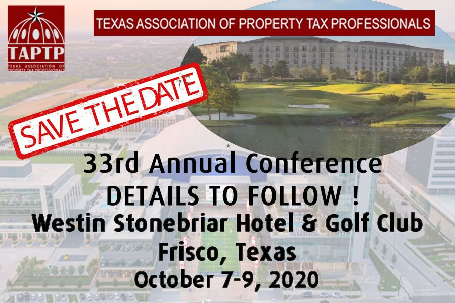 2020 Conference Announcement - Westin Stonebriar Hotel & Golf Club